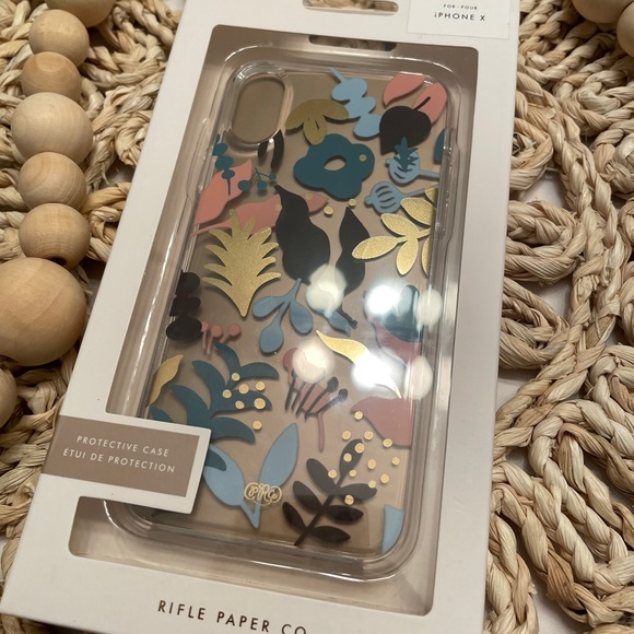 Rifle Paper Co IPhone X Case